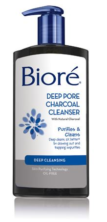 Biore Deep Pore Charcoal Cleanser Free at CVS | Passionate Penny Pincher