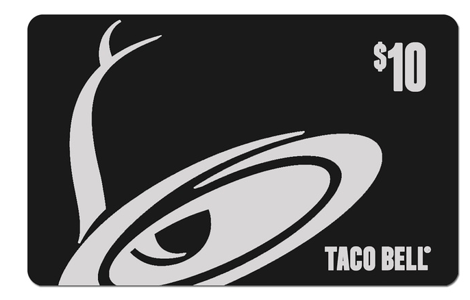 $10 Taco Bell Gift Card Just $5 From Groupon