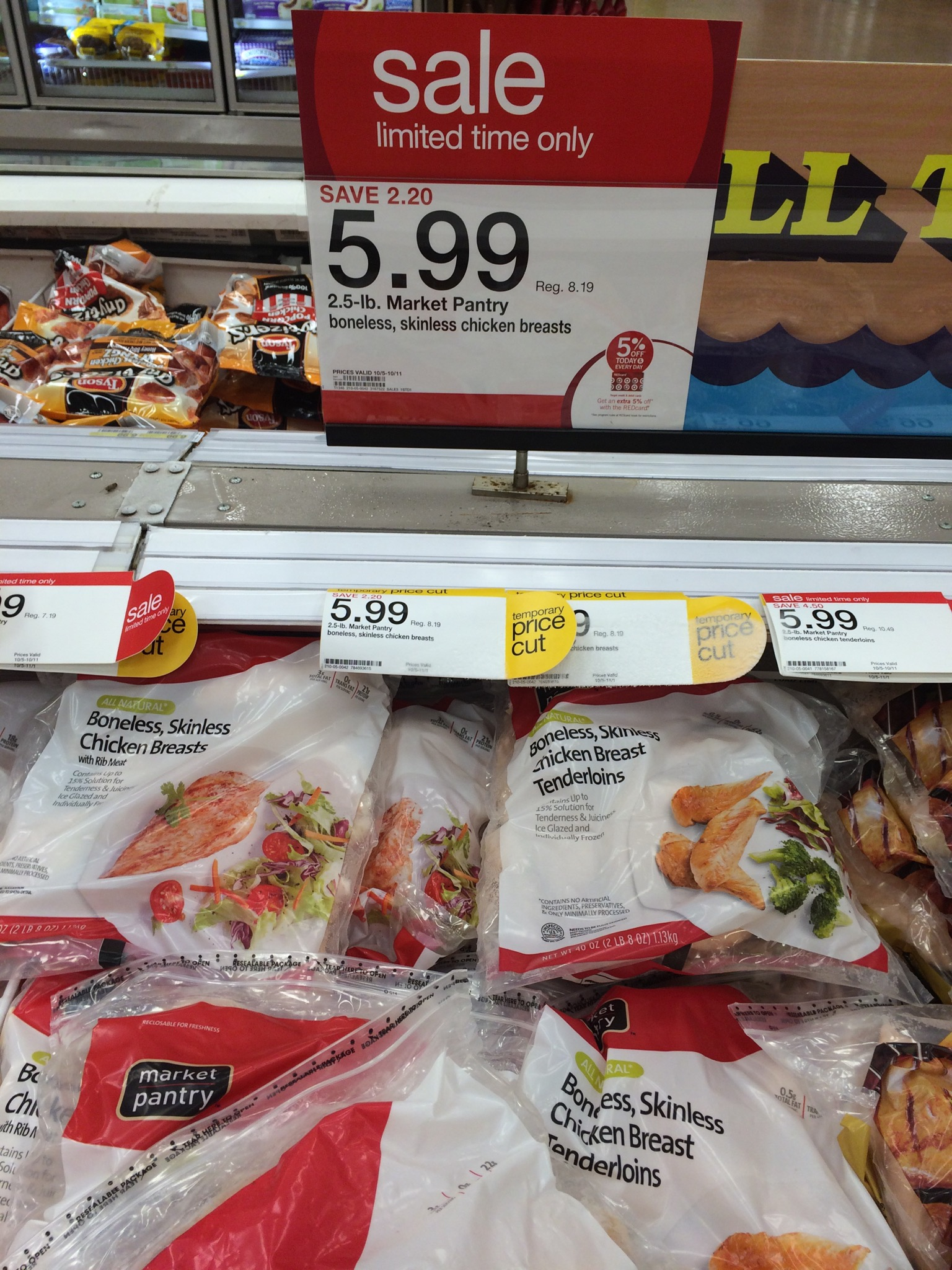 Target 5 25 In Ad Coupon Stock Up Price On Chicken
