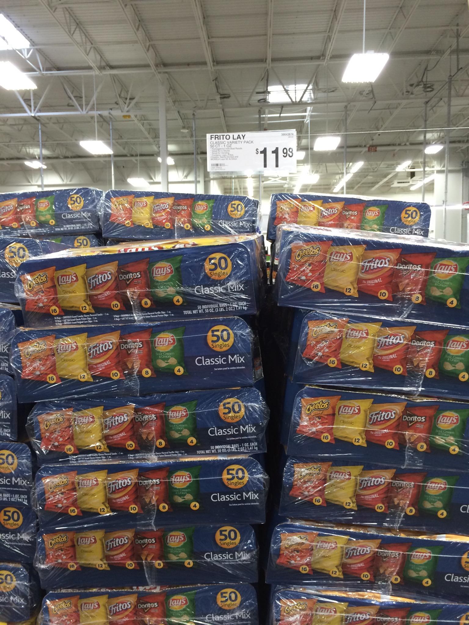 Sam S Club Vs Costco Prices Snack Food Prices