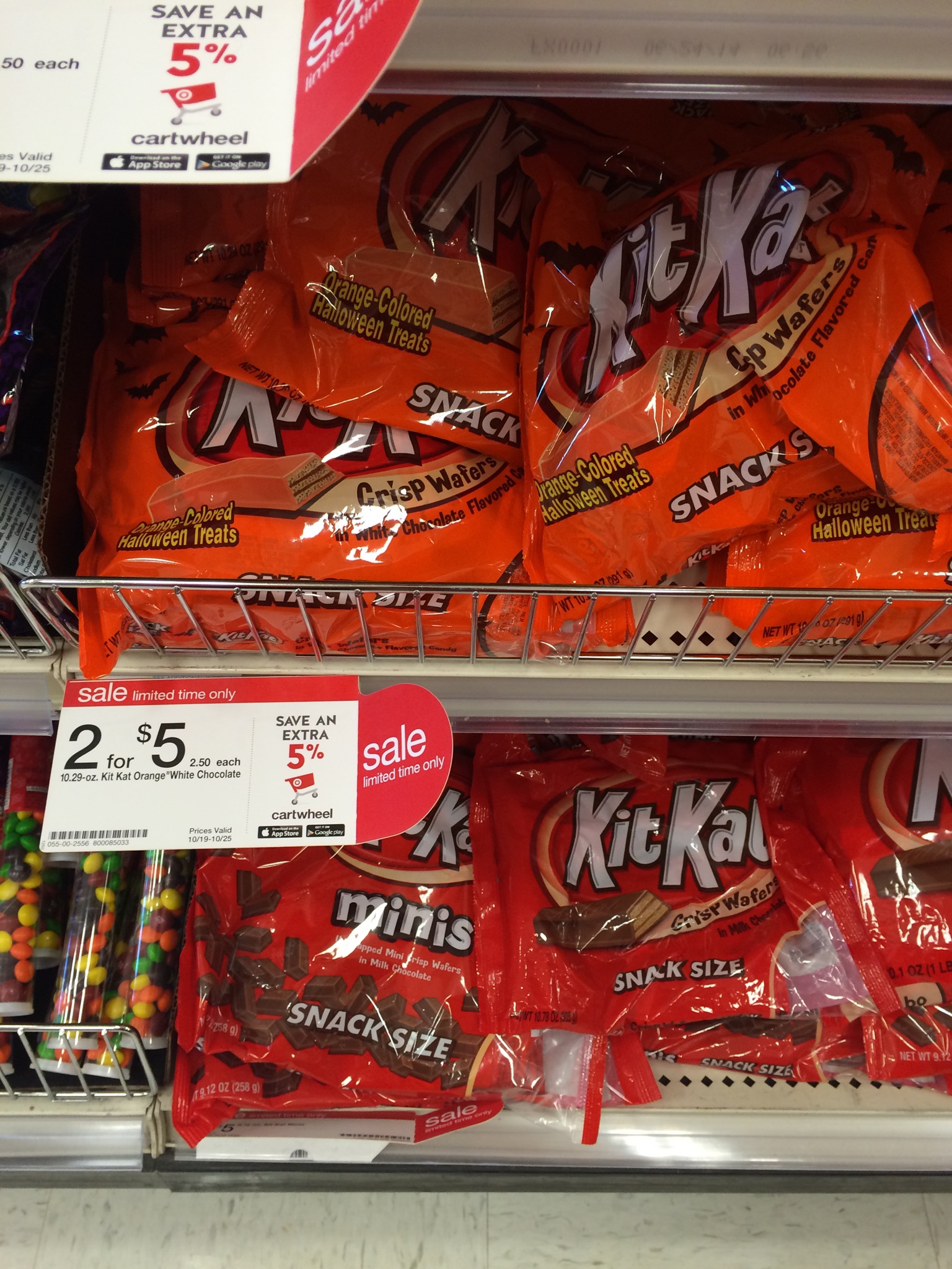 halloween candy as low as $1.14 per bag at target | passionate penny