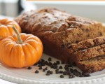 {Lightened Up} Pumpkin Chocolate Chip Bread