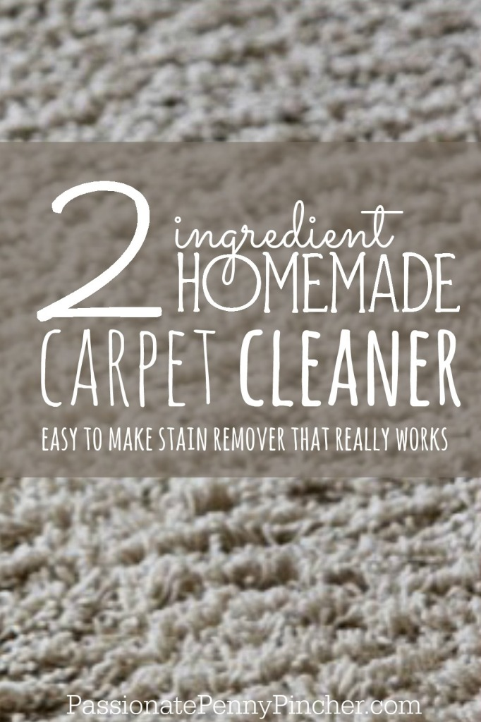Homemade Carpet Cleaner - PINTEREST