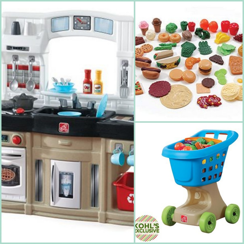 Kohl's Toy Deals: Kids Kitchen Set Scenario + Fisher Price