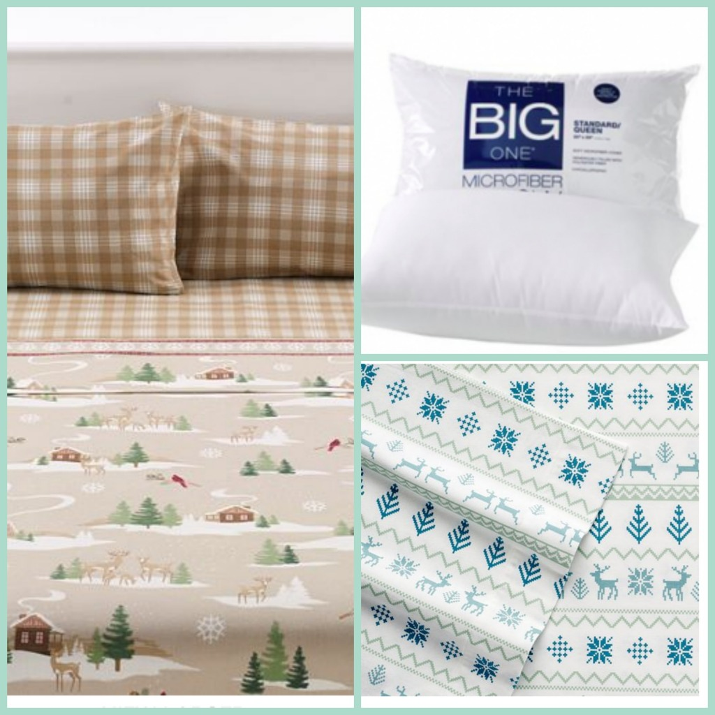 hot kohl 39 s savings on big one pillow flannel or fleece sheet sets passionate penny pincher. Black Bedroom Furniture Sets. Home Design Ideas