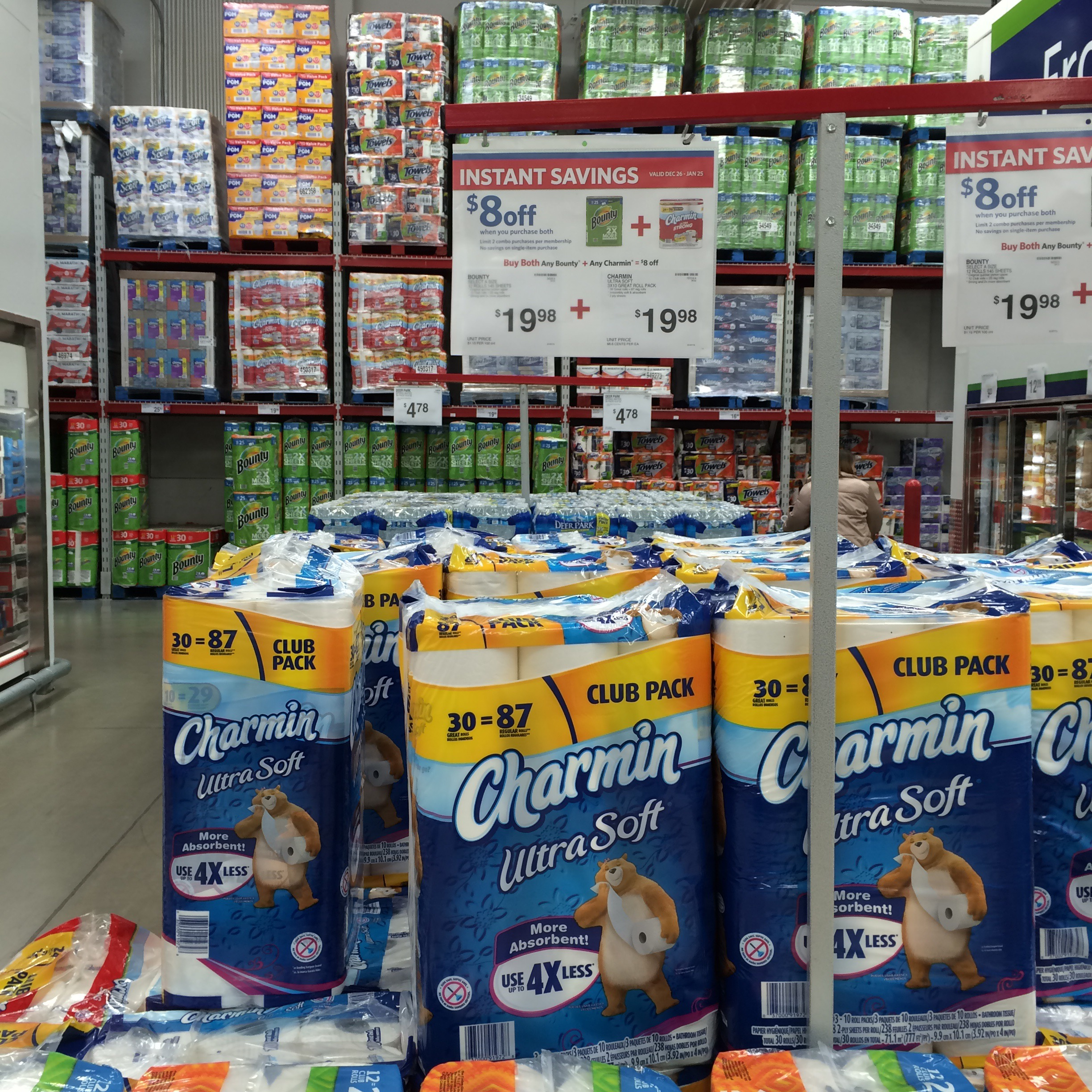 Best Deals On Paper Products At Amazon Sam S Costco