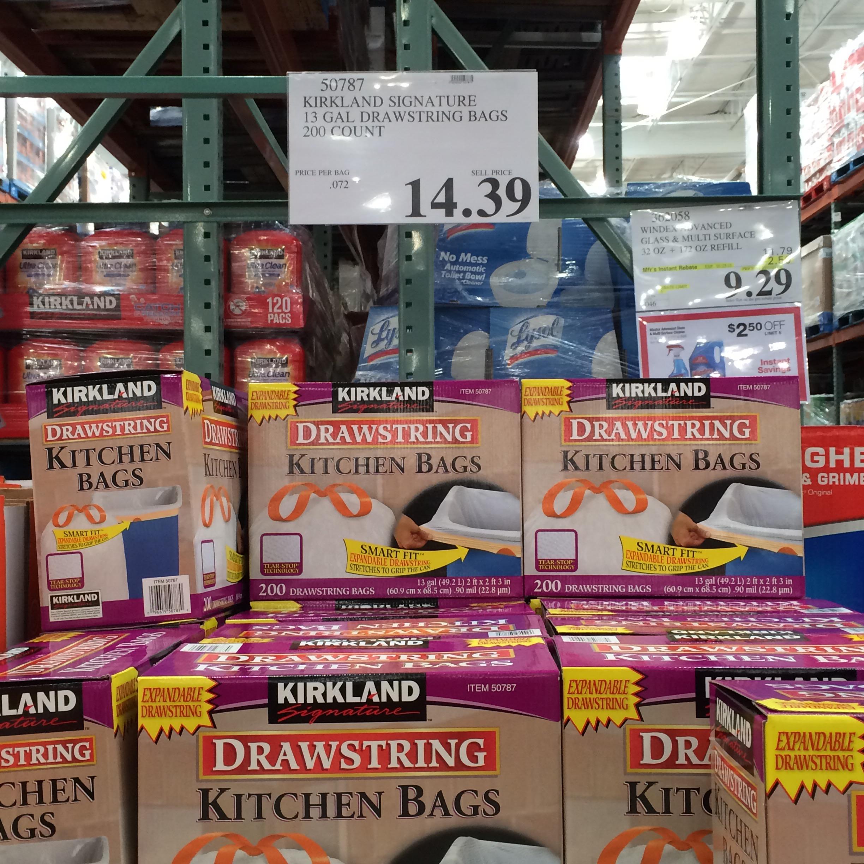 Trash Bag Comparison Prices Aldi Vs Sam S Amp Costco