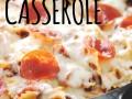 {One Skillet} Pizza Pasta Casserole