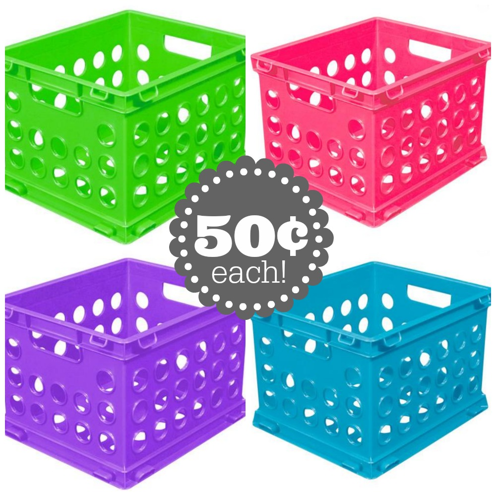 Sterilite Mini Crates Just 50 162 At Walmart Passionate