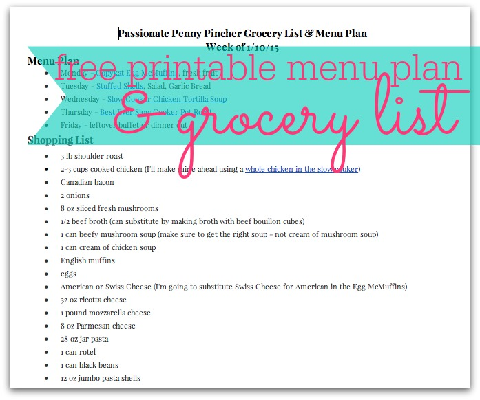 No Spend Grocery Challenge Archives | Passionate Penny Pincher