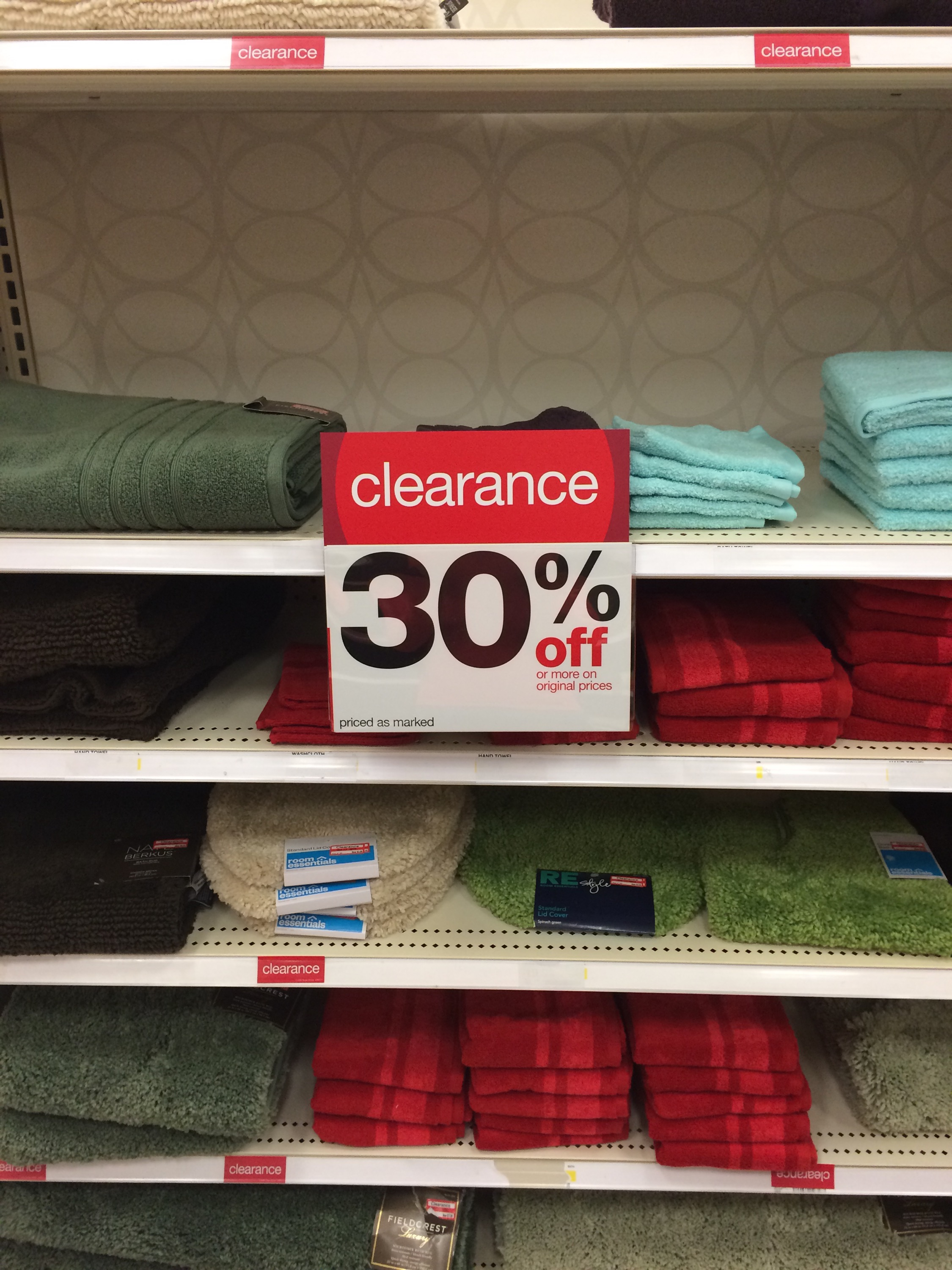 Target Home Clearance Sheets Kitchen Towels Bathroom