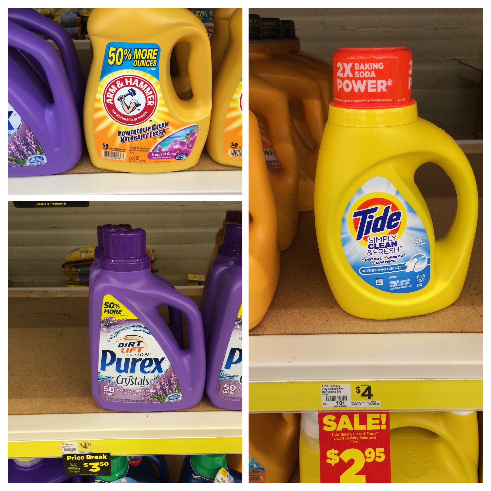 Dollar General 50 Glade Carpet Cleaner 2 Tide Simply