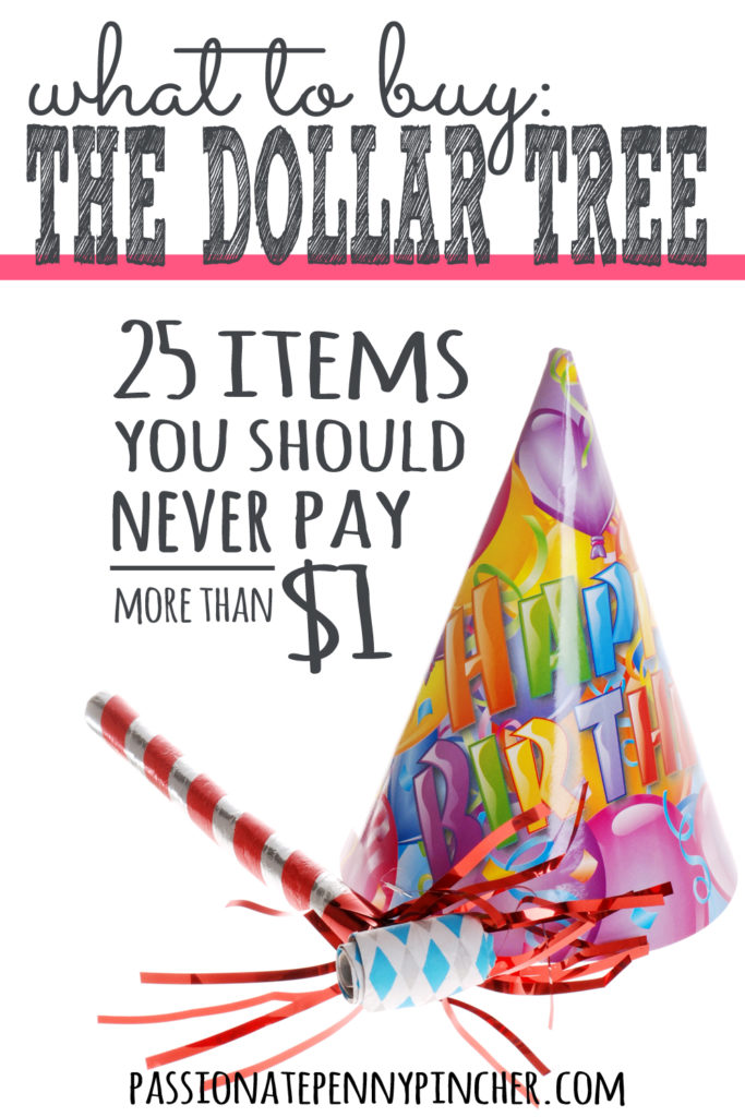 What to Buy at The Dollar Tree