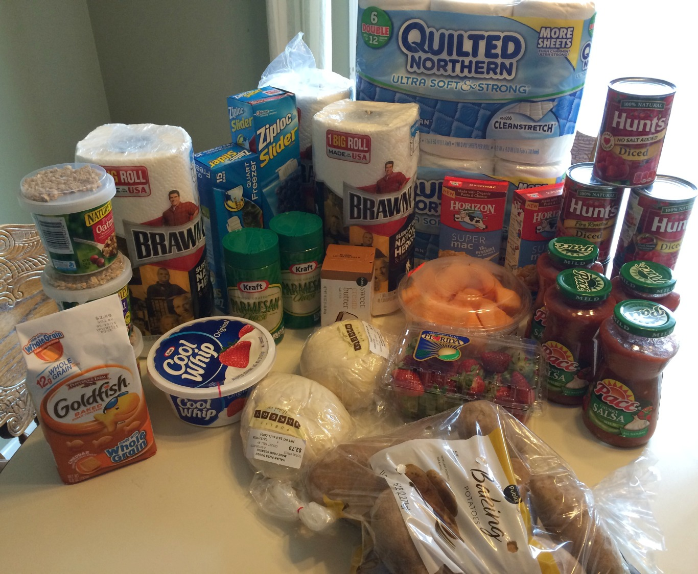 Shannon S Publix Trip Spent 29 For 81 In Groceries
