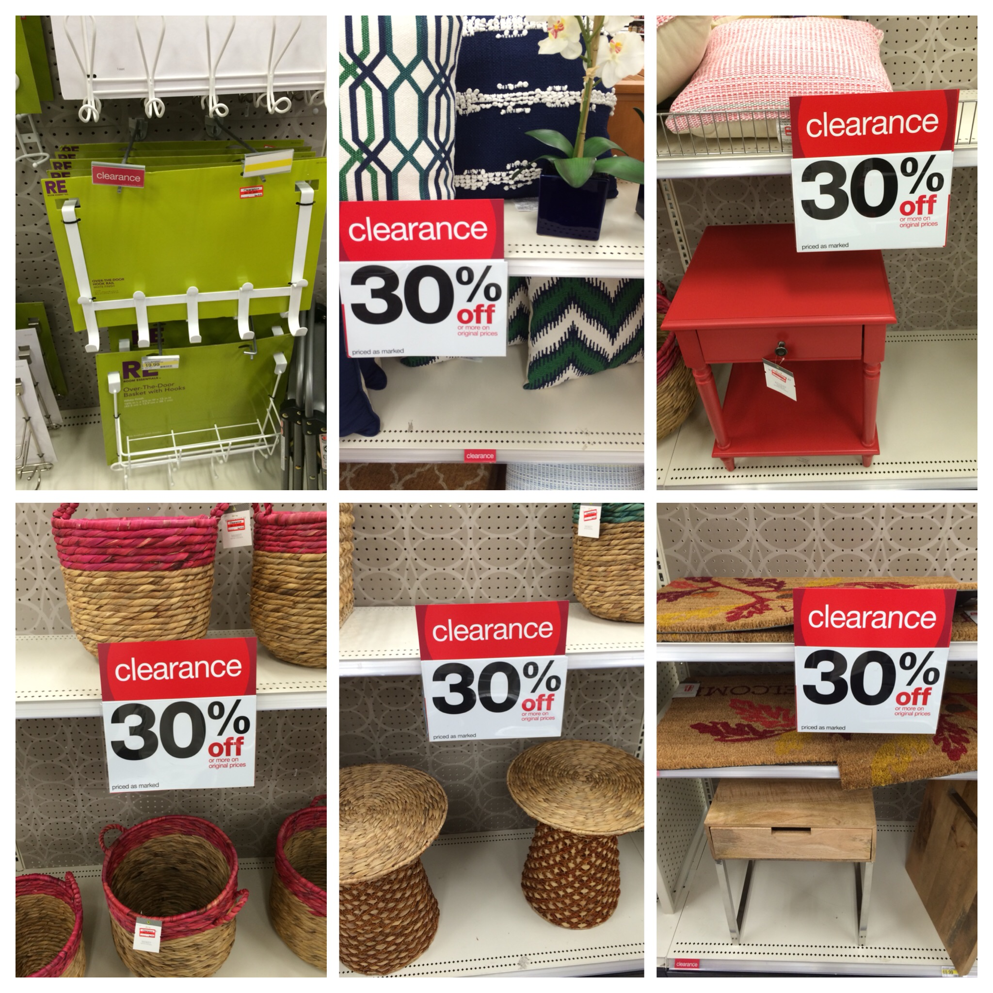 Target Clearance Home Decor Baskets Pillows More