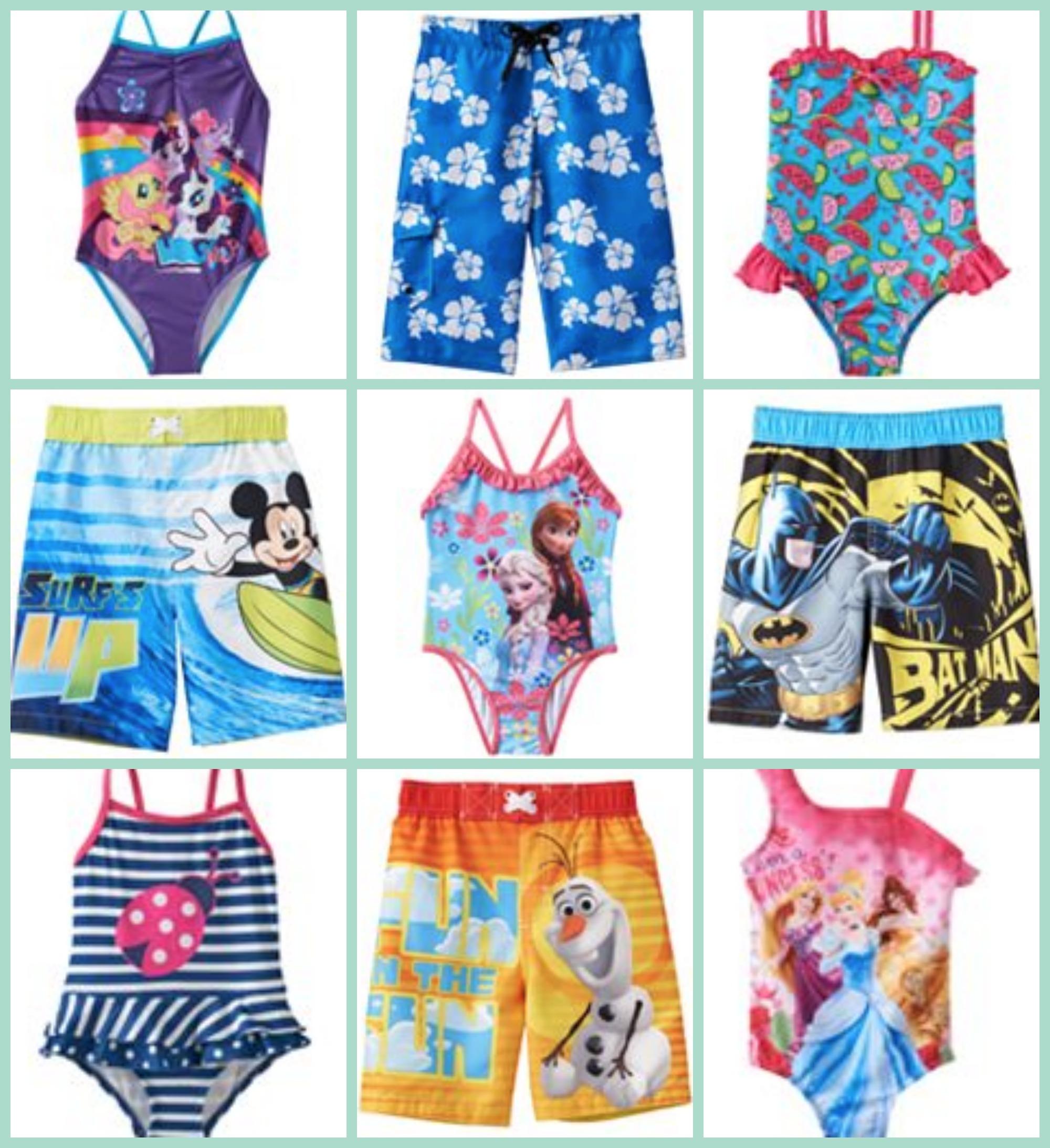 dbdd3aa3f788c Kohl's: Kids Swimwear As Low As $4.66