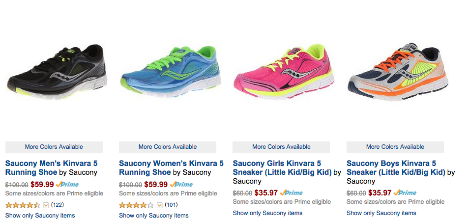 Shoes Gold DealSave Amazon 40On Box Running Saucony 5RLA4j