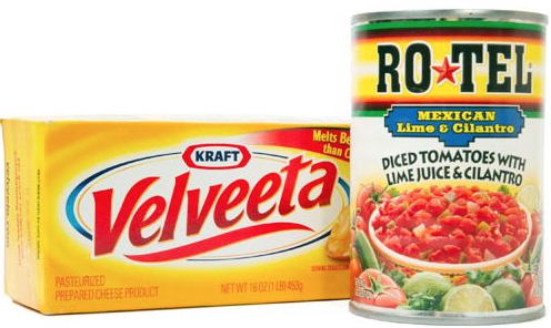 picture about Velveeta Printable Coupon called $2 Rotel Velveeta Coupon Suggests Fantastic Package At Emphasis