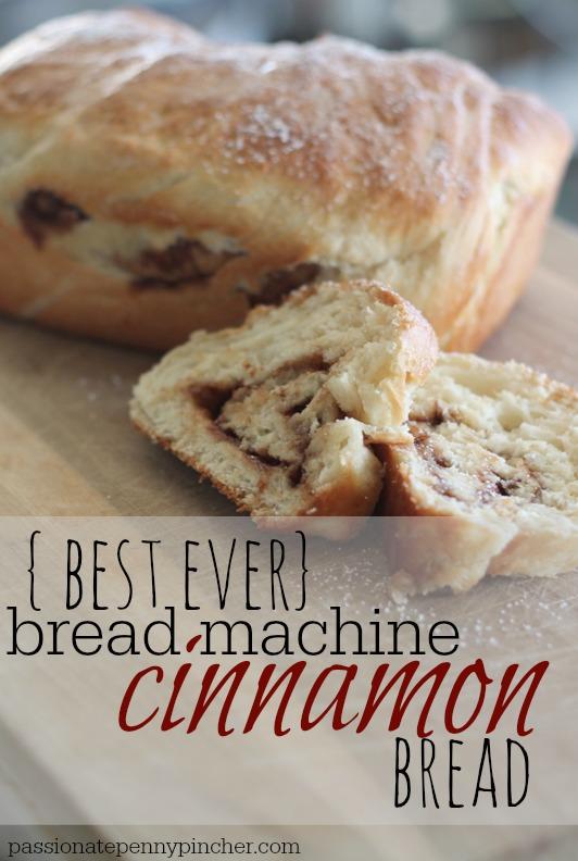 cinnamon bread bread machine