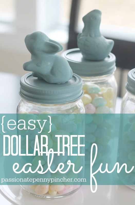 Dollar Tree Easter Craft Passionate Penny Pincher