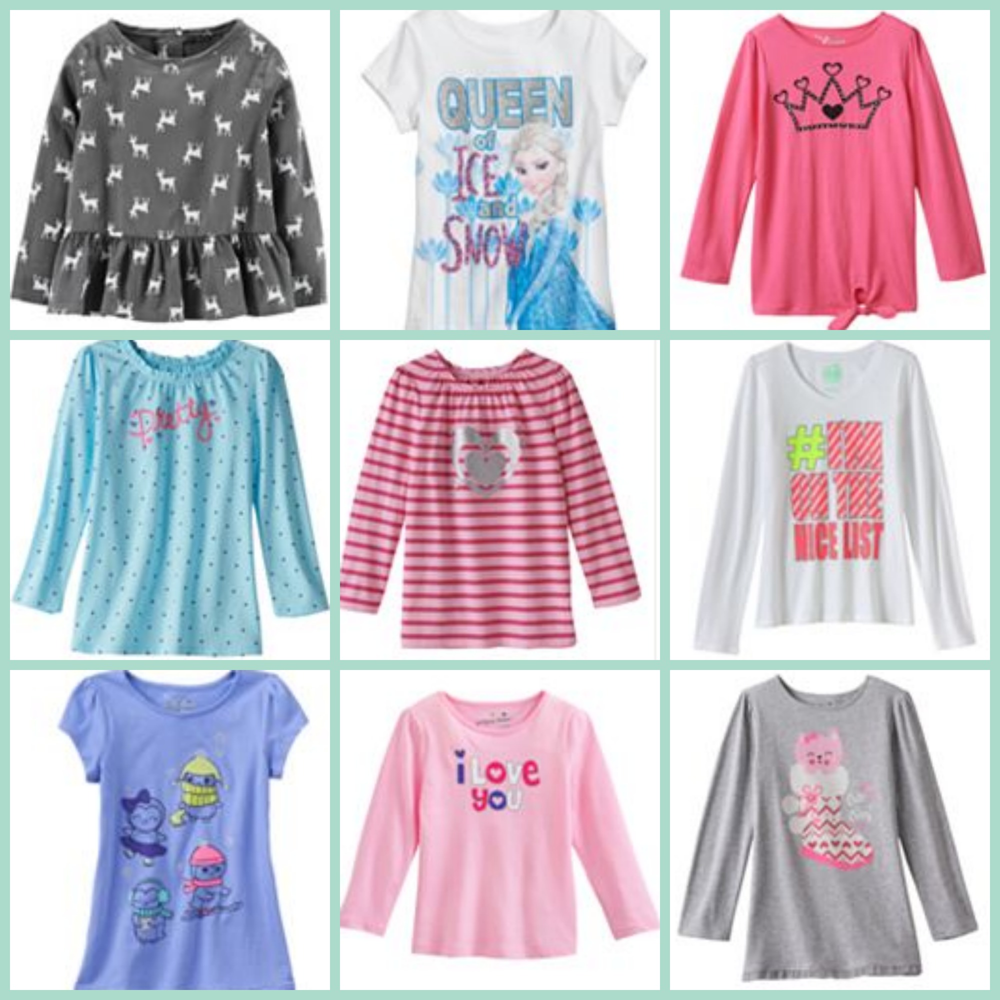 Kohlu0026#39;s Girl Clearance Clothing + Up To 30% Off | Passionate Penny Pincher
