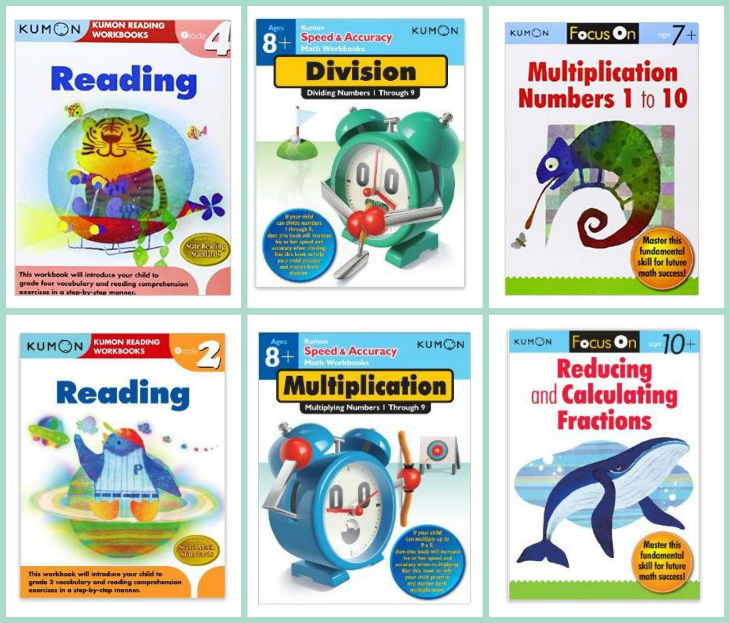 Amazon: Kumon Workbooks Starting At $5.95 Shipped | Passionate Penny ...