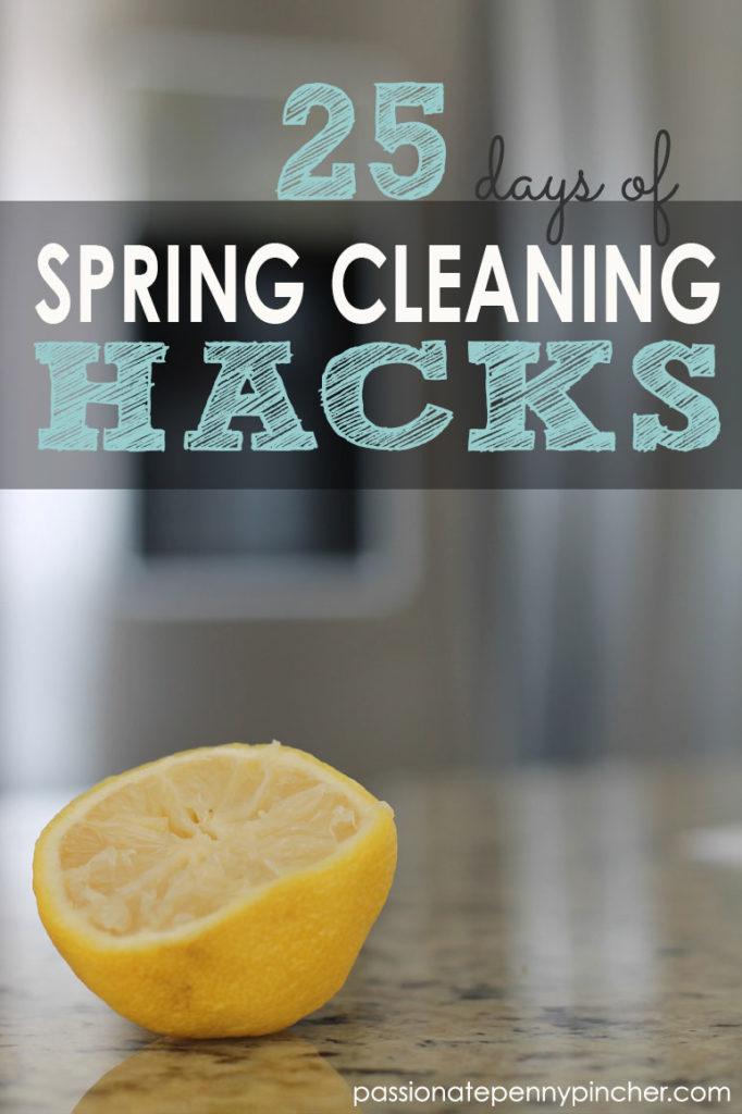 25 Days Of Spring Cleaning Hacks Day 24 Clean Between Oven Door