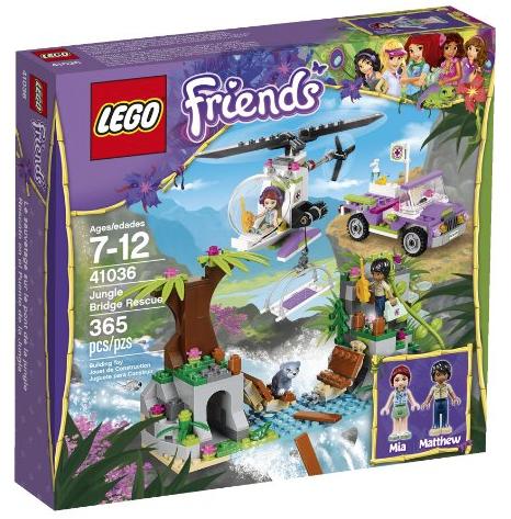 LEGO Friends Jungle Bridge Rescue Set $23.99 (Lowest Price ...