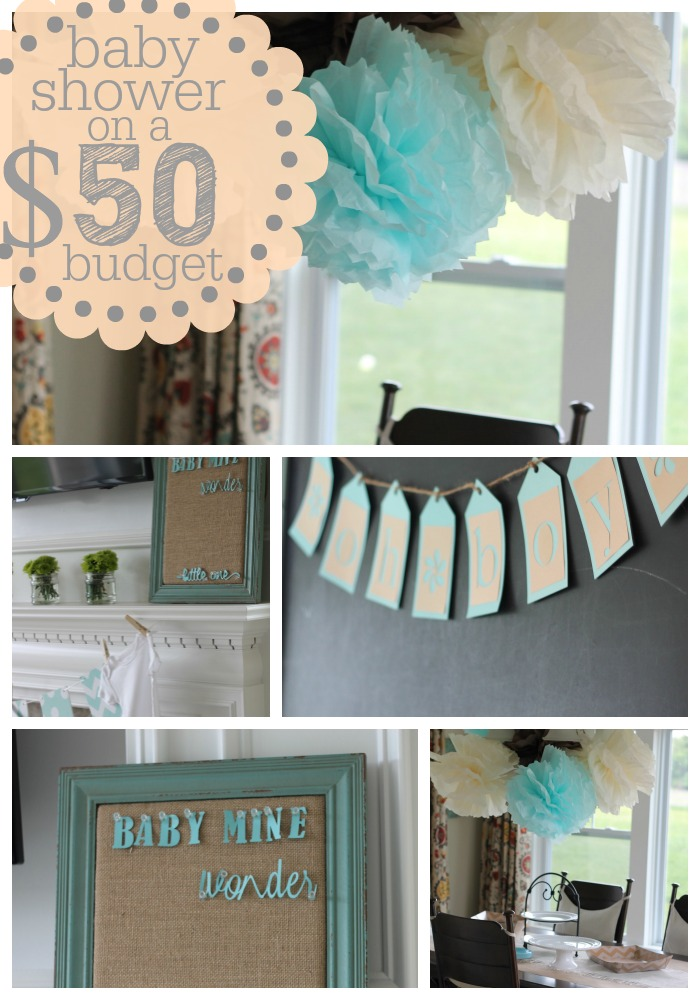 Baby Shower On A Budget