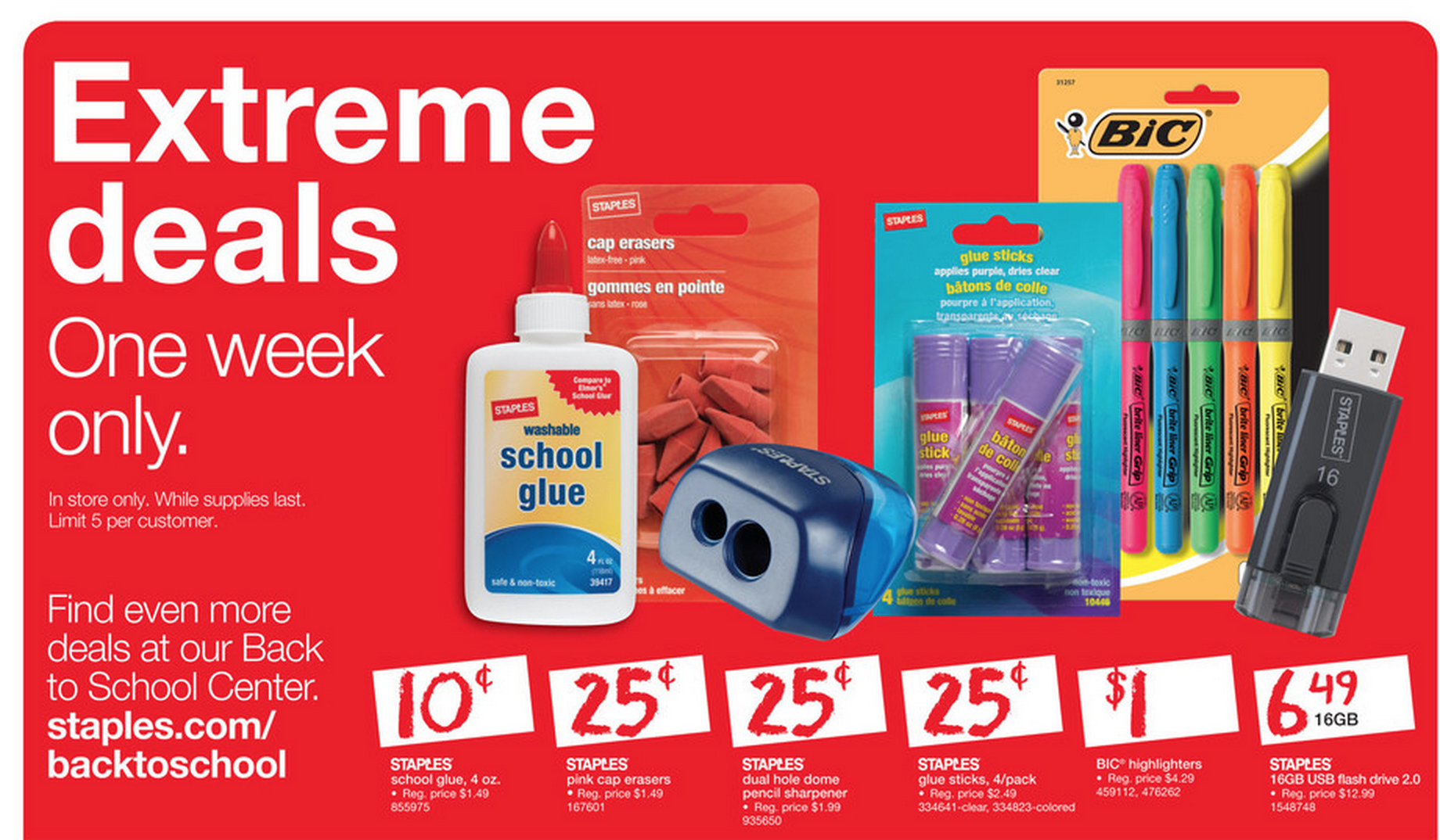 13 back to school deals you can t miss at staples this week week