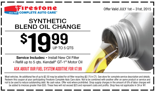 Deals On Oil Changes >> Oil Change Coupons