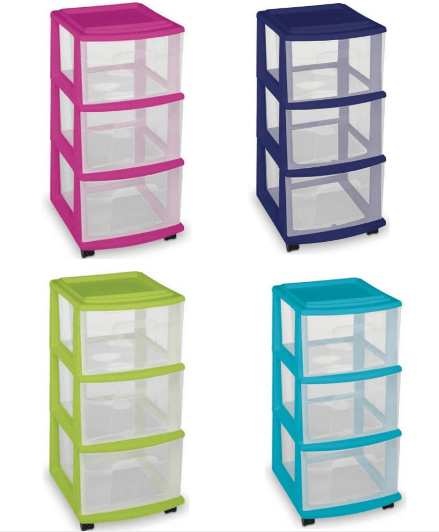 You can also get this Homz 3-Drawer Medium Carts 2-Pack for $27!  sc 1 st  Passionate Penny Pincher & IRIS 6-Case LEGO Storage Cart with Organizer Top $28 (Reg $65 ...