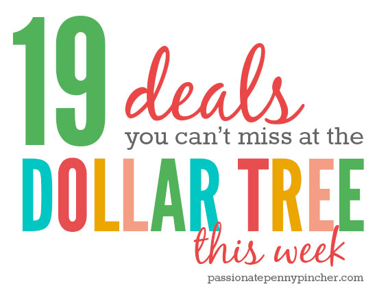 19 deals you can't miss at the Dollar Tree this week