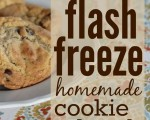 How to Flash Freeze Cookie Dough