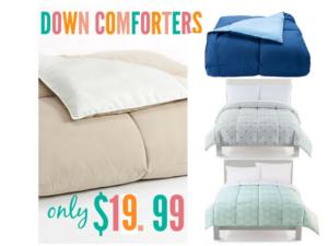 kohls-down-comforters