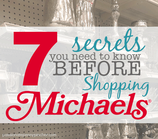 7 secrets you need to know before shopping at michaels m4hsunfo