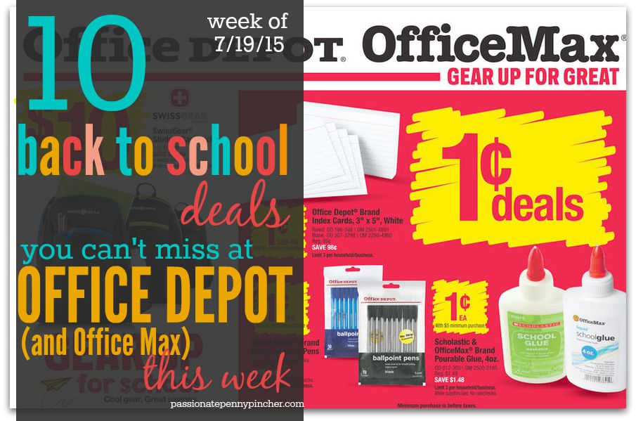 10 deals you can 39 t miss at office depot this week for Deals by depot