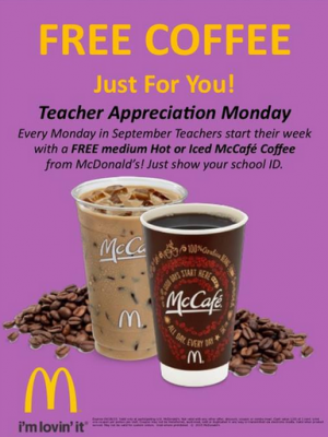 McDonalds Teachers