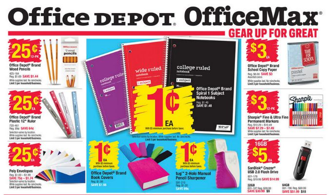 ... Office Depot Rebate By The Best Back To School Deals This Week Staples  Office ...