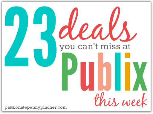 23 deals you can't miss at Publix this week