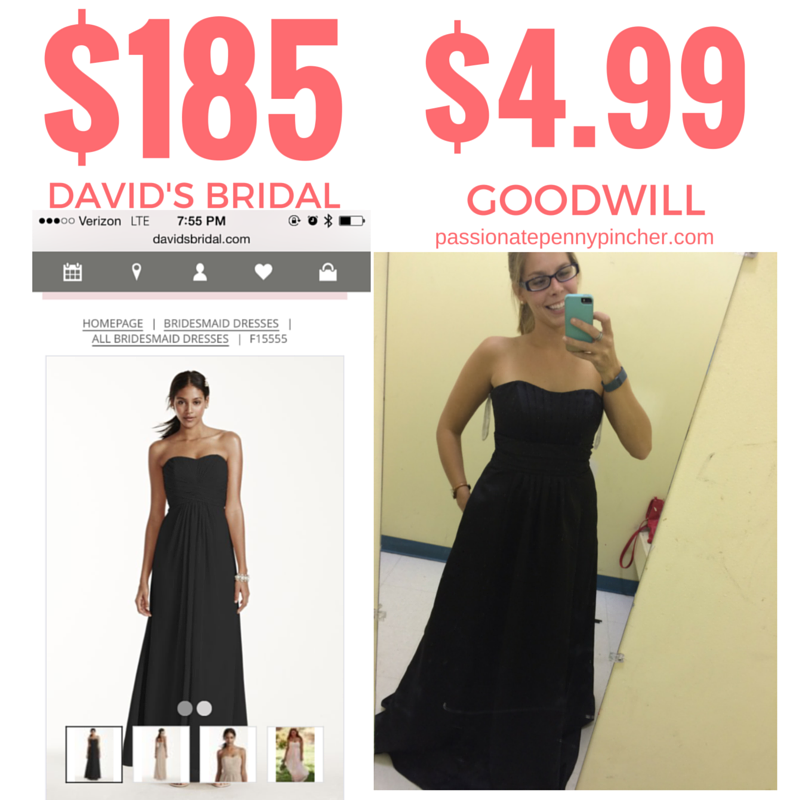 Formal Dresses As Low As $4.99 At Goodwill? Wow! | Passionate ...