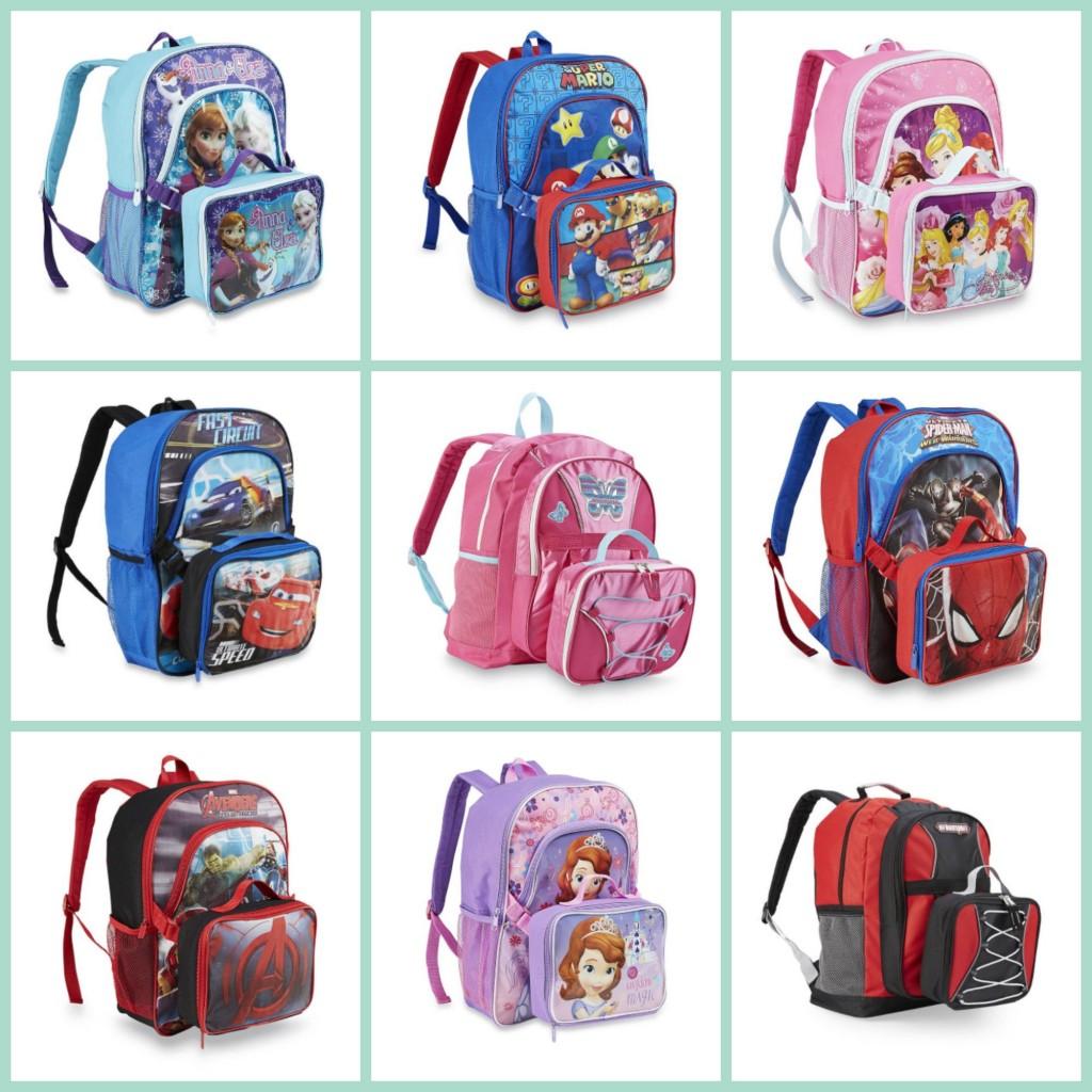 266092ef7e6 Kids Backpack + Lunch Box  9.60 (Frozen