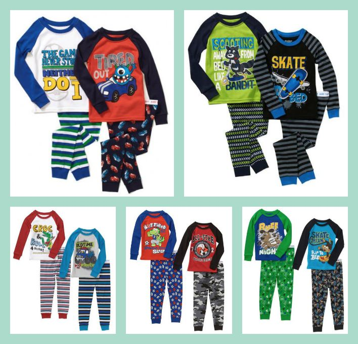 737eafd586 PicMonkey Collage. Right now Walmart.com has several Garanimals Baby Toddler  Boy Cotton Tight Fit Pajamas