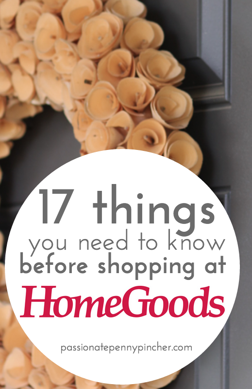 17 things you need to know before shopping at home goods for Home need things