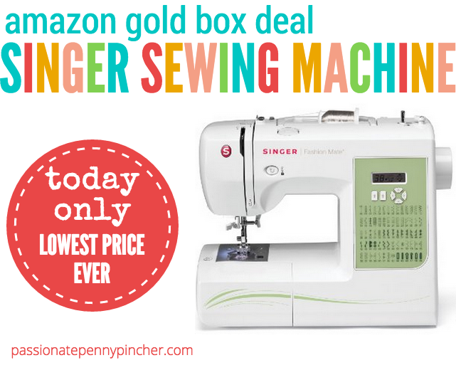 Gold Box Machine Lowest Prices On Singer Sewing Machines Today New Singer Sewing Machine Lowest Price