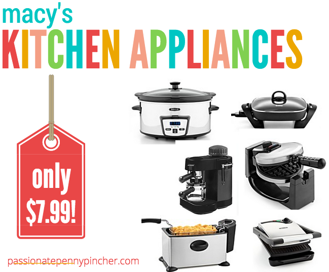 Hot Macy 39 S Kitchen Appliances Black Friday Pricing Passionate Penny Pincher