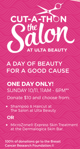 ulta salon haircut coupons ulta salon free shampoo amp haircut with 10 donation 2887