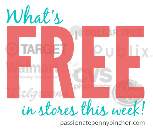 What's FREE in stores this week!