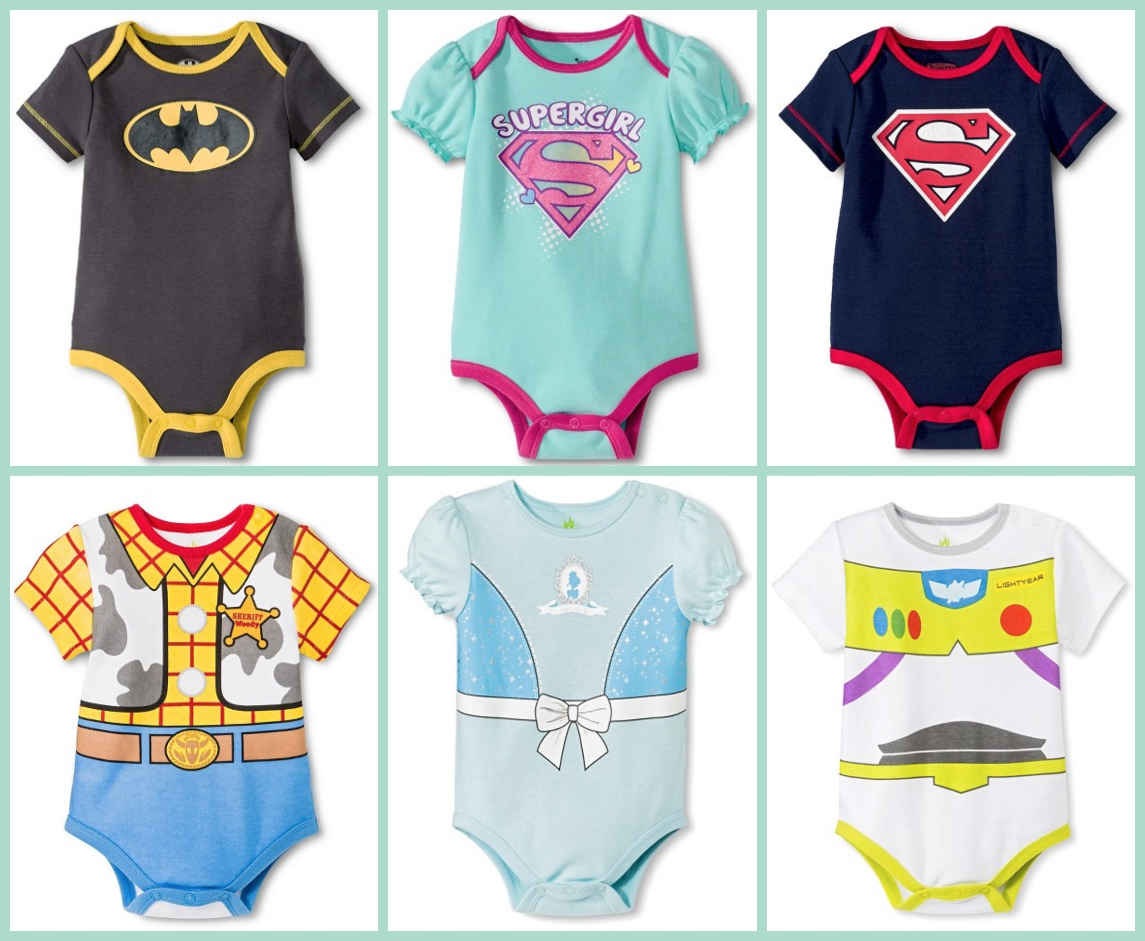 852f0e590 Target: Superhero and Disney Onesies $3.50 Each