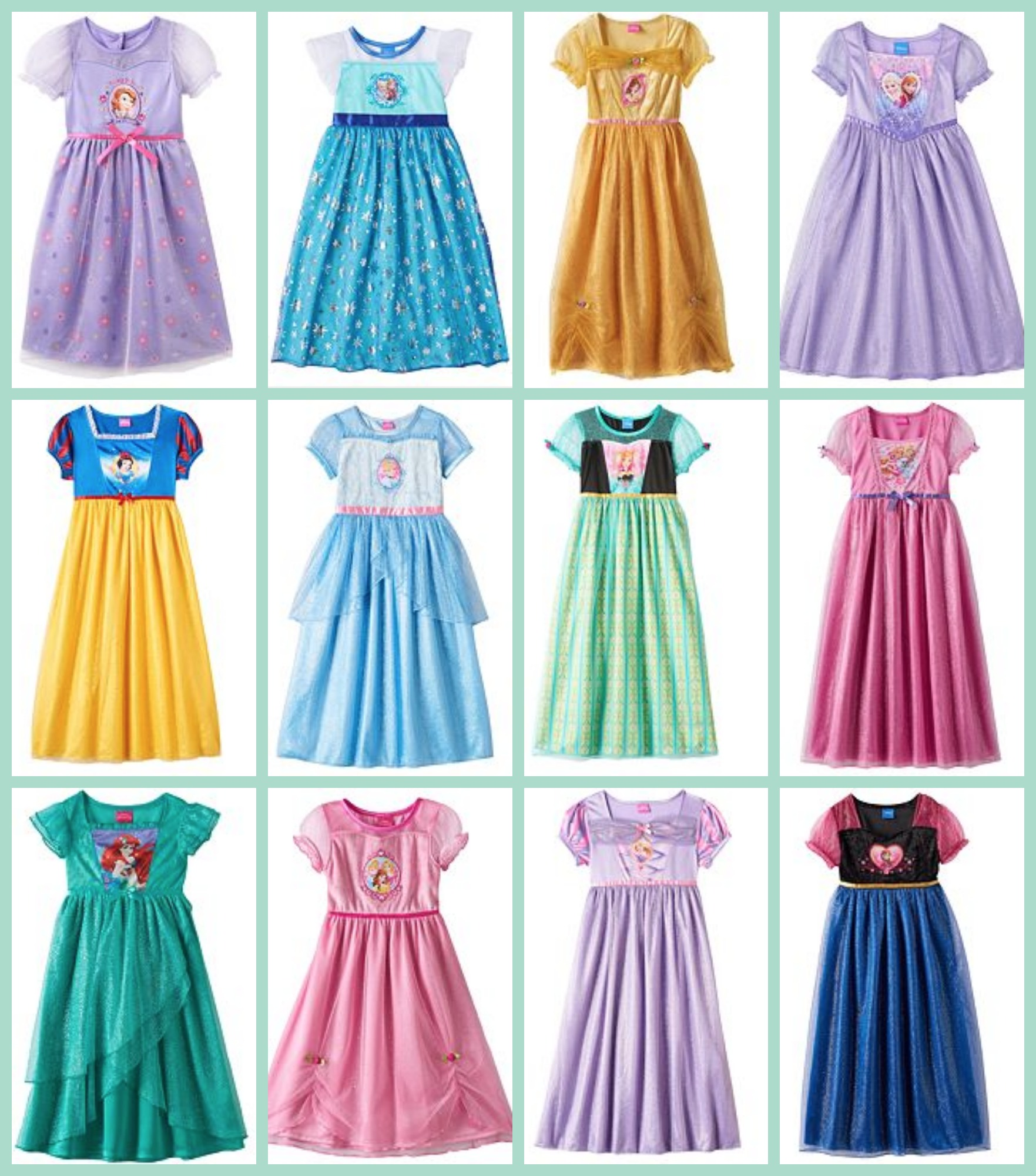 Kohl\'s: Disney Princess Dress-Up Nightgowns $7.93 (Regularly $32) + ...
